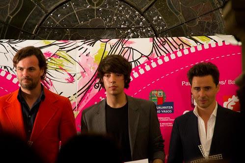 Fernando Lemoniez, Paul Txertudi y el estilista Moncho Moreno