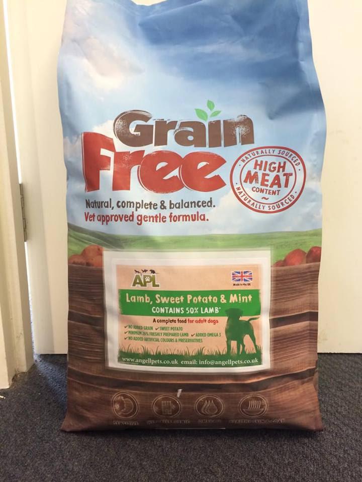 Grain Free Dog Food   Angell Pets - The Friendliest Pet ...