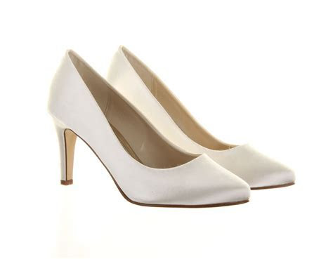 Ivory Wedding Shoes Kaitlyn Rainbow Club Dyeable Bridal Shoes