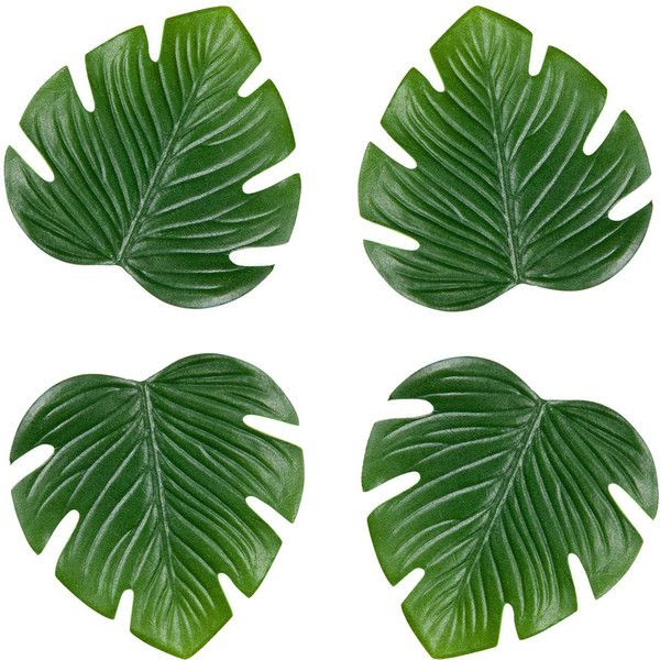 Zara Home Plant Coasters (Set of 4) found on Polyvore