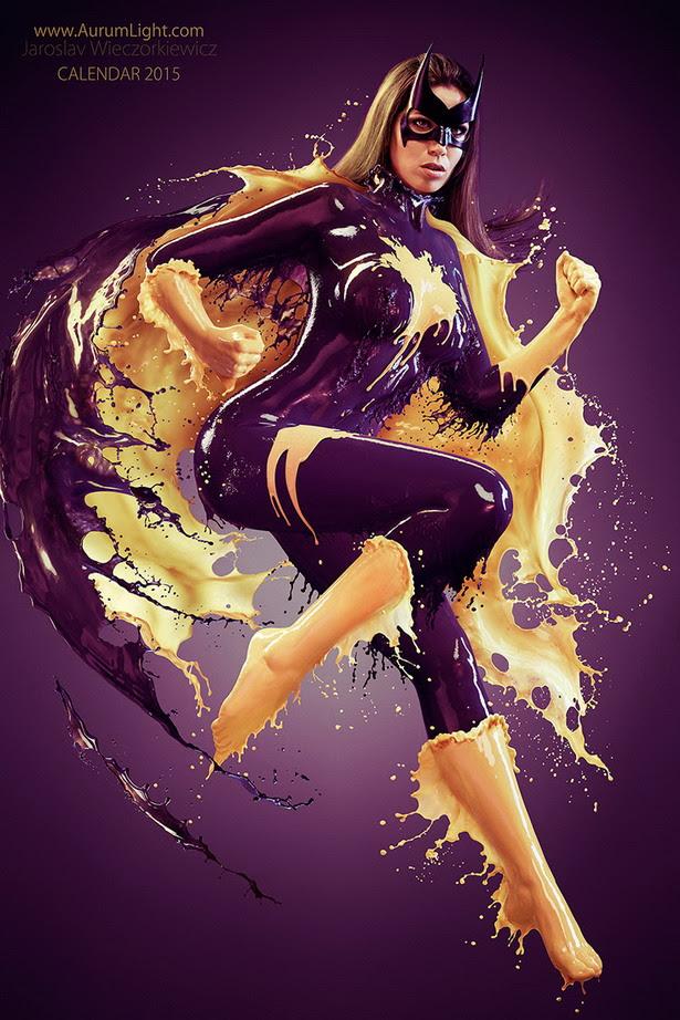 Splash Heroes Calendar : BatGirl