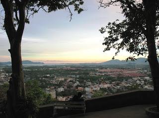 Rang Hill sunset view