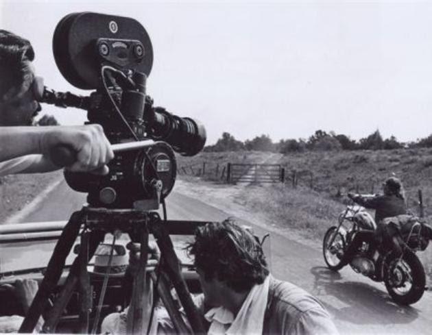 photo tournage coulisse cinema EasyRider 07 Photos sur des tournages de films #2  photo featured cinema 2 bonus