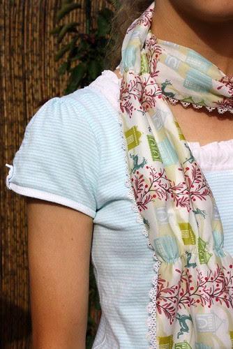 AMH voile scarf