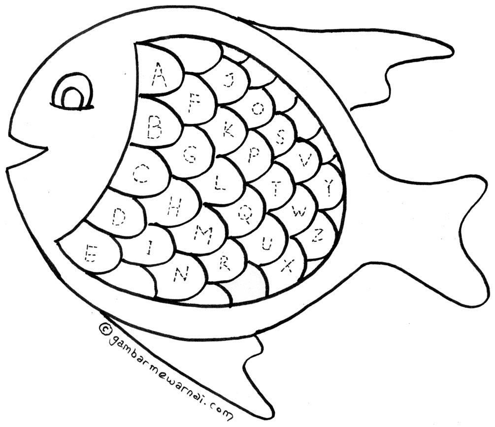 Sketsa Gambar Untuk Anak Kelas 1 Sd | Sobsketsa
