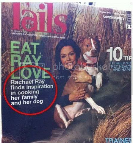 Rachel Ray finds inspiration in cooking her family and her dog