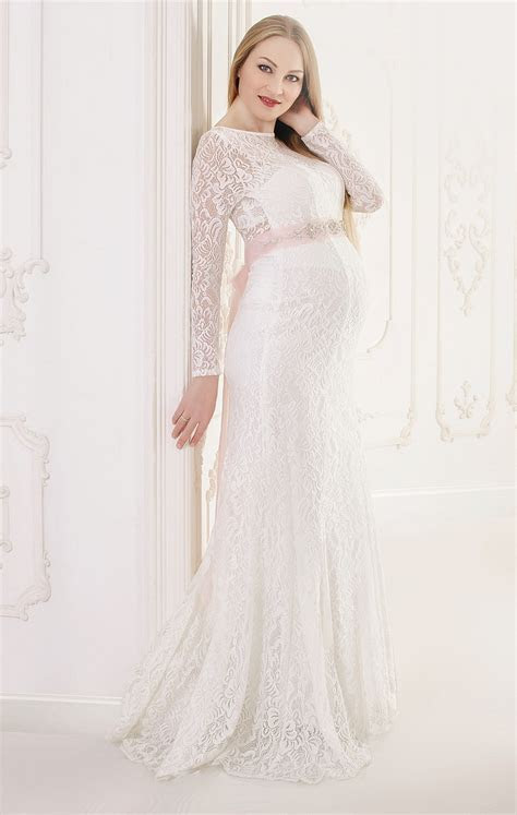 19 of the Most Gorgeous Maternity Wedding Dress for