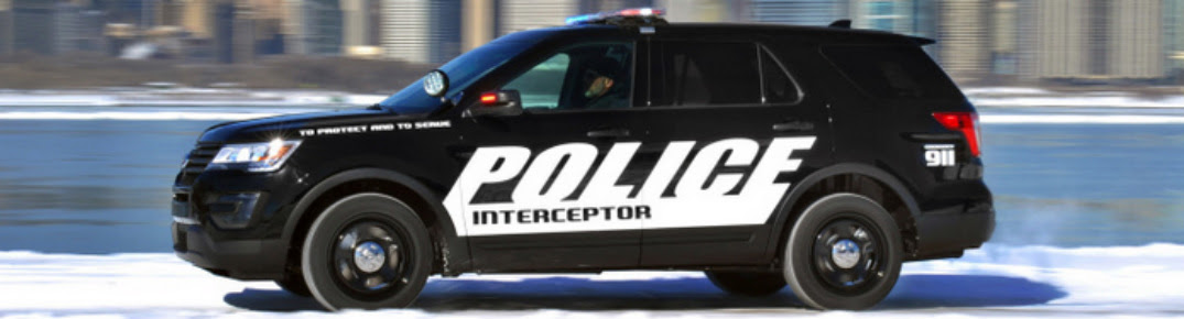 2016 Ford Police Interceptor Utility Vehicle