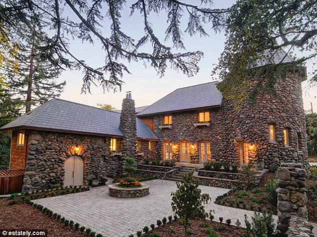 Hideaway: This newly renovated 1912 three-bedroom home in Portola Valley, California featuring a pool, guest house and bocce court, is currently listed for $6,495,000