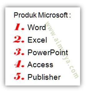 Gambar: contoh nomor (numbering) yang berbeda dengan teks  di microsoft word