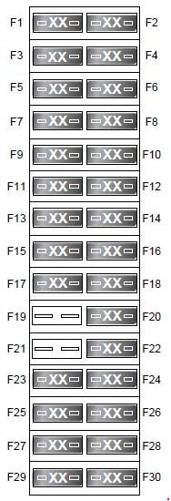 Land Rover Discover 2004 2009 Fuse Box Diagram Auto Genius