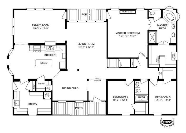 New Clayton Modular Home Floor Plans New Home Plans Design