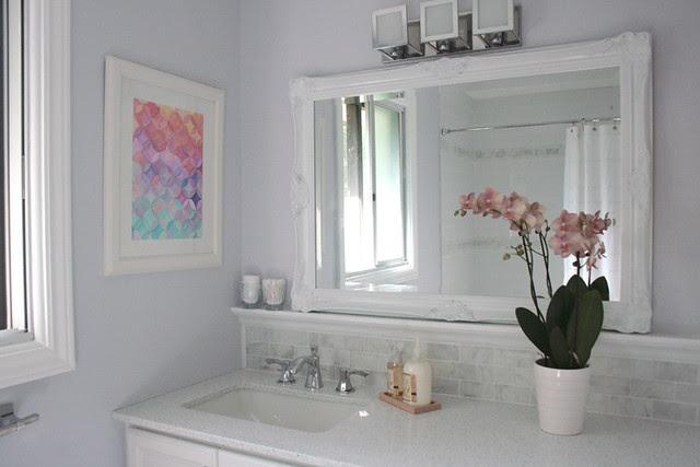 Finished bathroom, I love it!