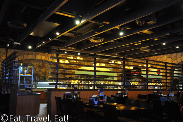 Zen Buffet- Monrovia, CA: Interior/ Surrounding Area