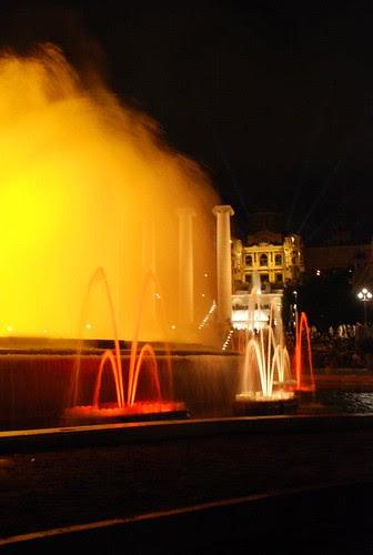 Barcellona - fontana magica