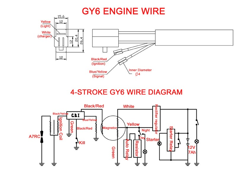 Yy50qt 6 Wiring Diagram
