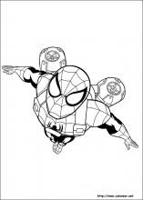 Dibujos De Ultimate Spider Man Para Colorear En Colorearnet