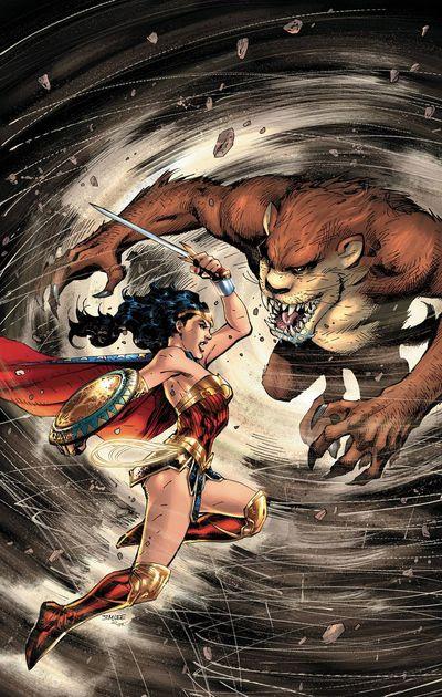 Wonder Woman Tasmanian Devil Special #1