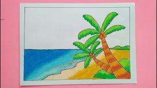 All Clip Of Cara Menggambar Pantai Untuk Anak Anak Bhclipcom