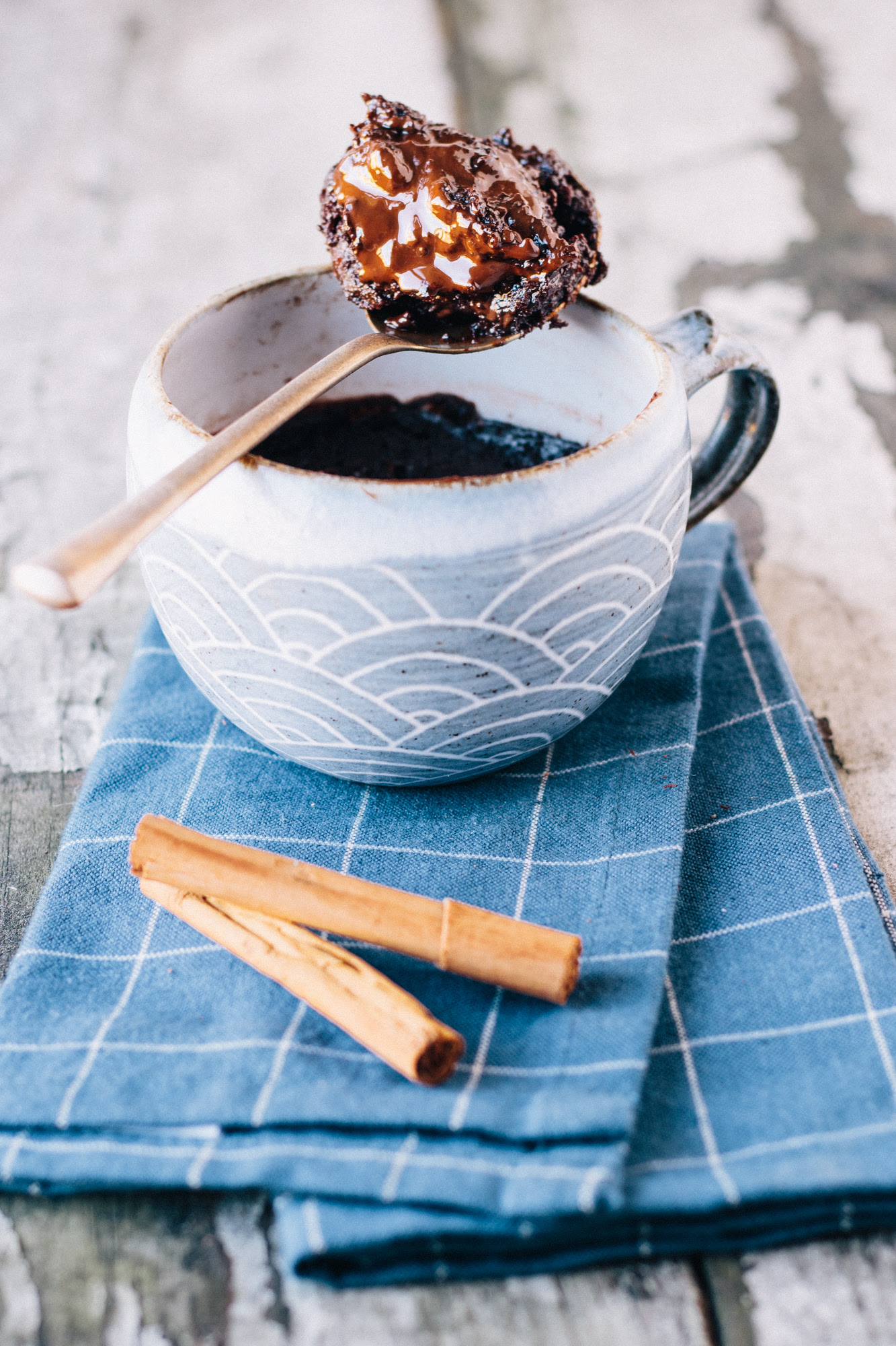 Vegan Molten Mexican Hot Chocolate Mug Cake / Microwave ...