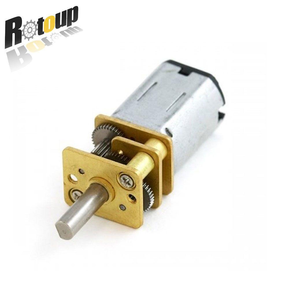 Rotoup Mirco Metal Ga12 N20 Gear Motor N20 Module Dc