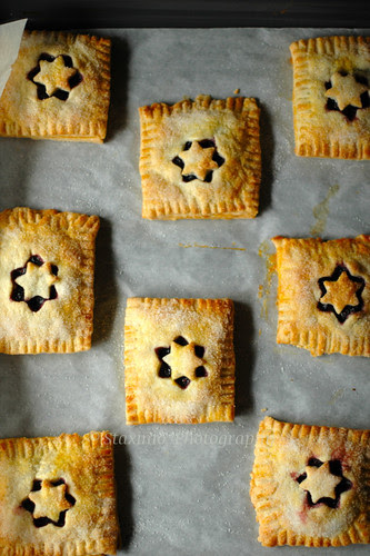 Fagottini / Hand Pies ai Frutti di Bosco