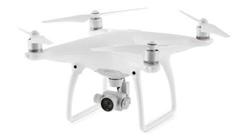 DJI Phantom 4 with advanced sensing technology, 4K camera ...