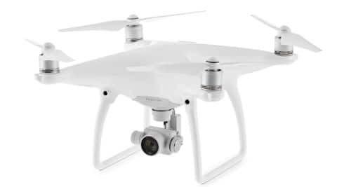 DJI Phantom 4 with advanced sensing technology, 4K camera ...