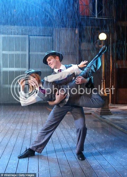 geri halliwell canta singing in the rain per il children in need della bbc