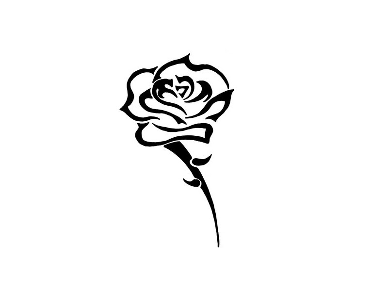 Free Black And White Flower Design Download Free Clip Art Free Clip Art On Clipart Library