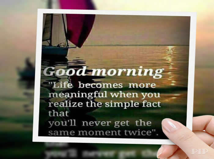 Good Morning Life Is All About Adjustments Inspirational Quotes