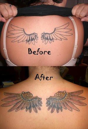 angel wings tattoo designs 6 angel wings tattoo designs