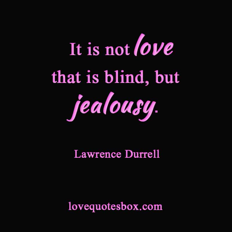 Jealousy Love Quotes. QuotesGram
