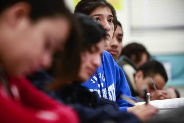 Alejandra Suarez attends L.A. Unified's Jordan High School.