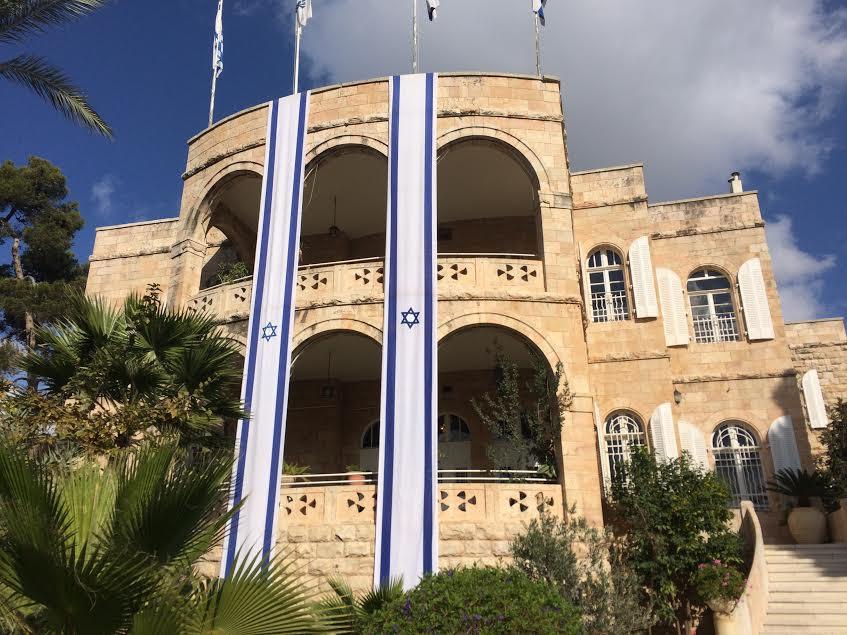 La cosiddetta ambasciata cristiana a Gerusalemme (foto Michele Giorgio)