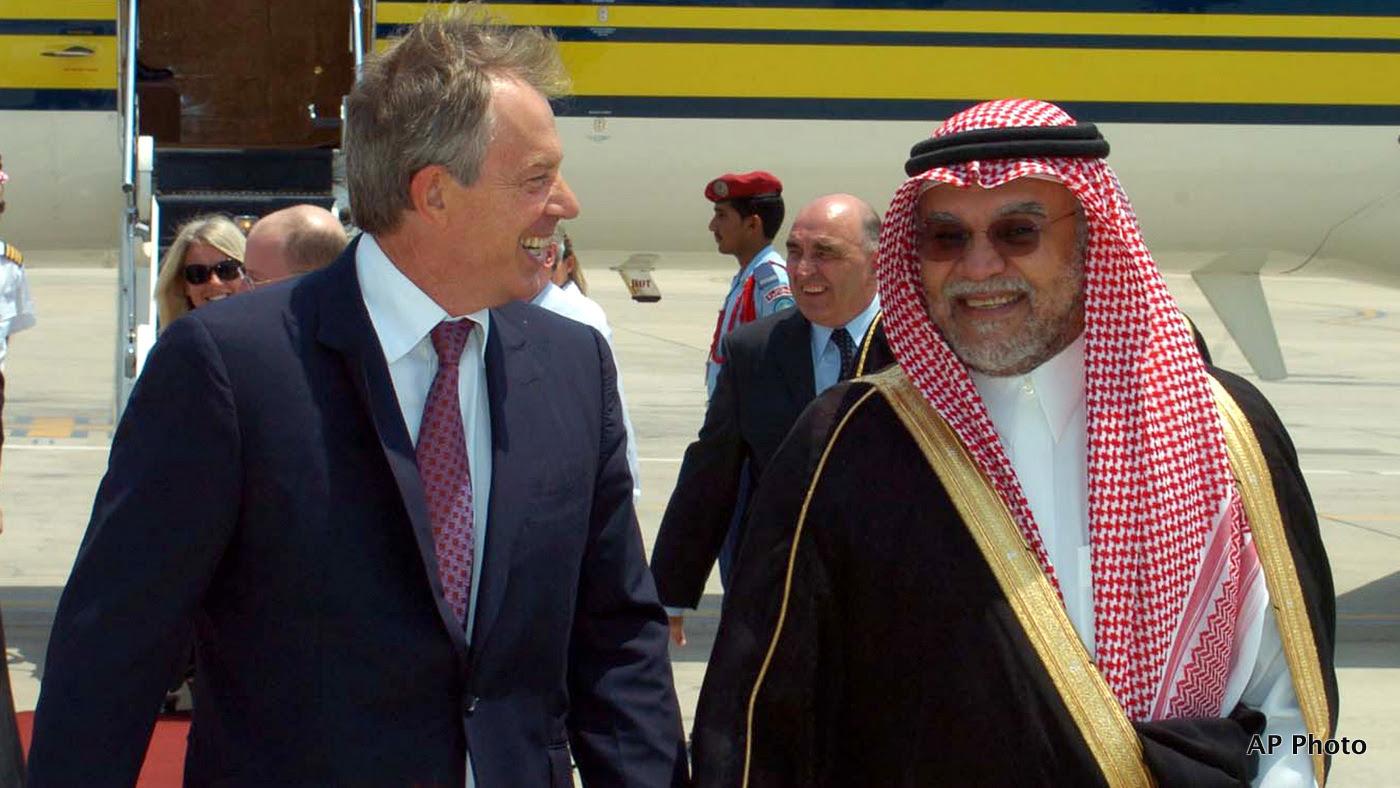 Tony Blair, Bandar bin Sultan