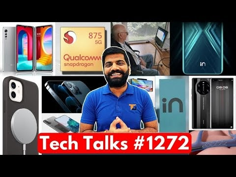Tech Talks #1272 - Micromax IN First Look, Galaxy S21, iPhone 13 1TB Storage, LG Wing & Velvet India
