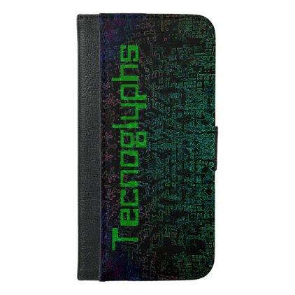 Technoglyphs iPhone 6/6s Plus Wallet Case
