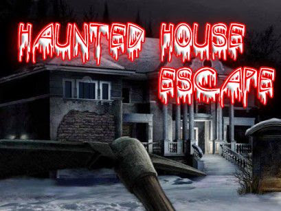 Screenshots of the Haunted house escape for Android tablet, phone.