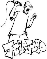 Hip Hop Da Colorare Hip Hop Coloring Pages