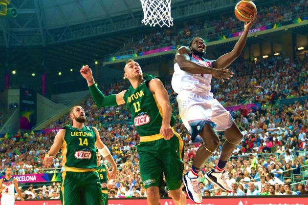 USA vs. Lithuania: FIBA World Cup 2014 Semifinal Score and Twitter Reaction
