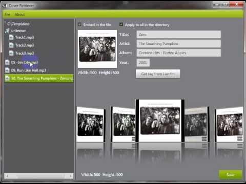 Cover Retriever : un logiciel open source pour télécharger et sauvegarder les pochettes de vos fichiers audio