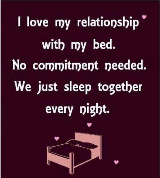 I Love The Relationship With My Bed Pictures Photos And Images For