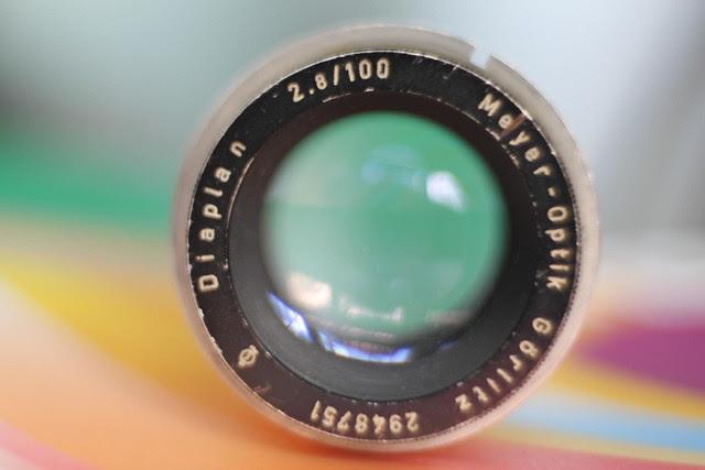 Diaplan 2.8/100 Meyer-Optik Görlitz