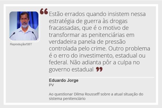 Eduardo Jorge - debate (Foto: Reprodução)