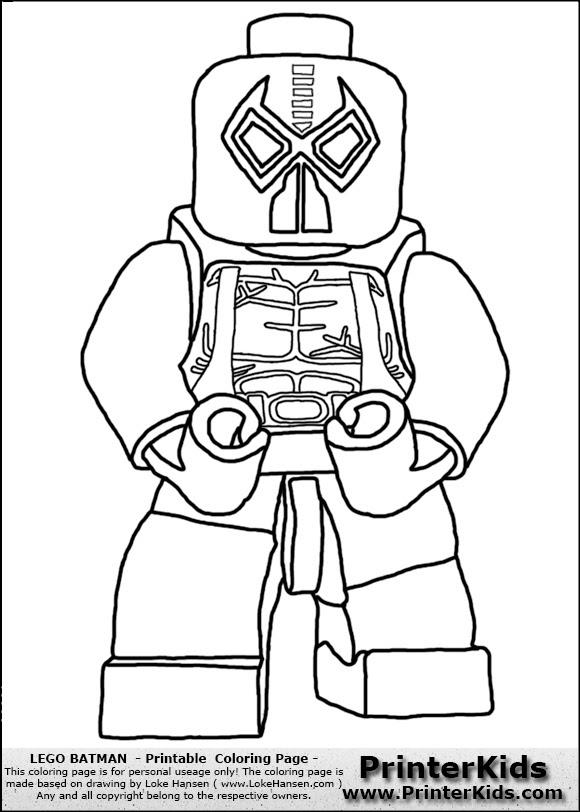 Gambar  Mewarnai  Lego aneka gambar  mewarnai