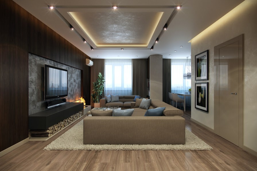 Contemporary Lounge Ideas minimalist home design