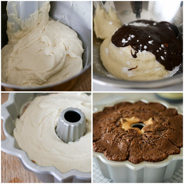 Chocolate Crown Bundt collage 1