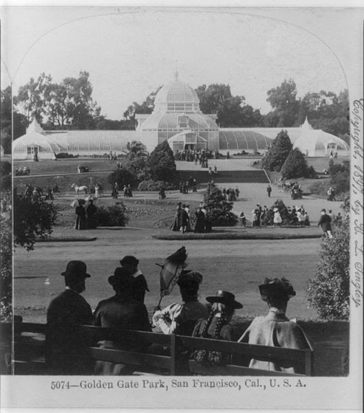 Conservatory of Flowers, 1897 San Francisco