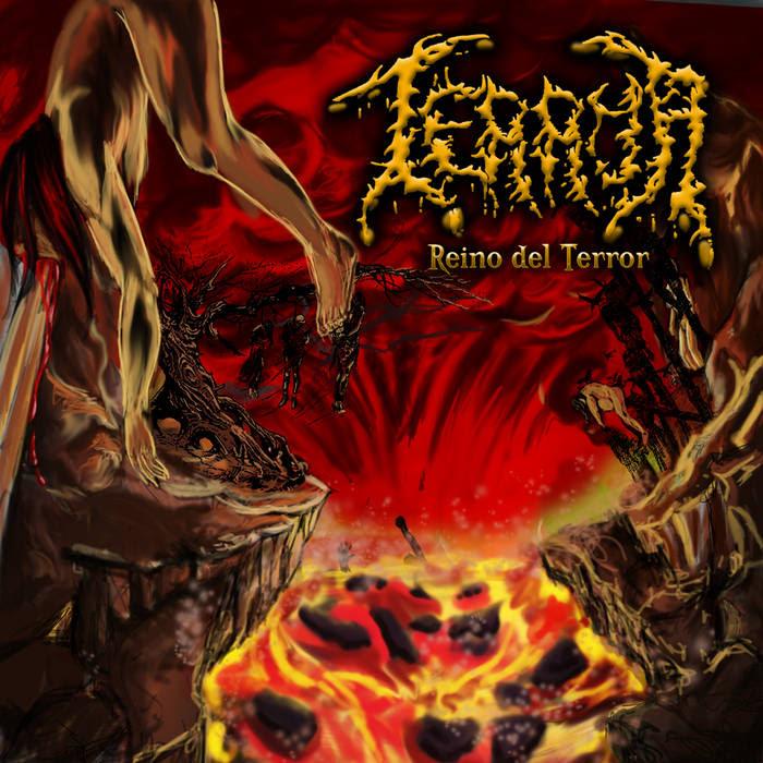 """TERROR """"Reino Del Terror"""" CD  SOLD OUT cover art"""